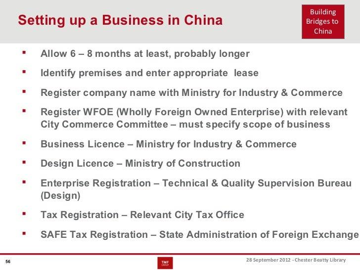 TMF Group - Building bridges to china case studies