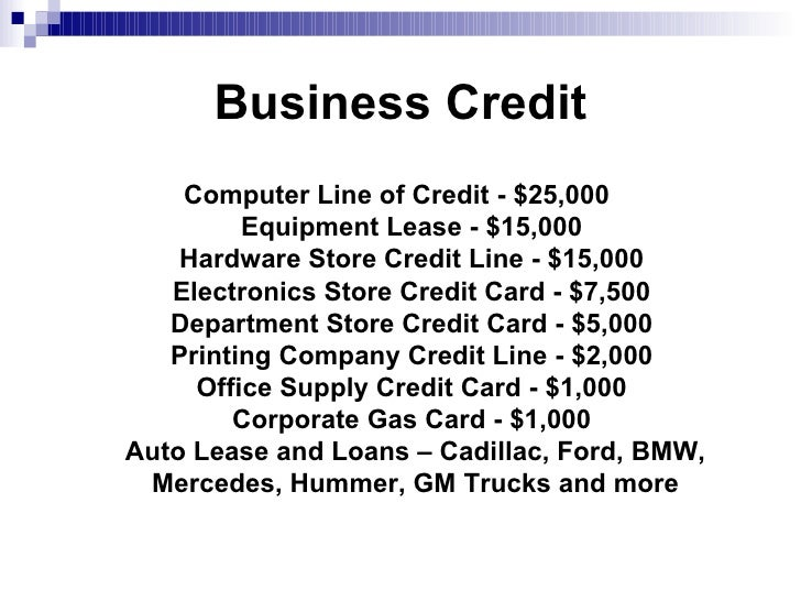 Building business credit business credit colourmoves