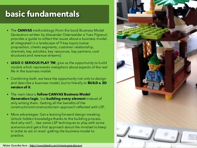 basic fundamentals • The CANVAS methodology (from the book Business Model Generation written by Alexander Osterwalder e Yv...