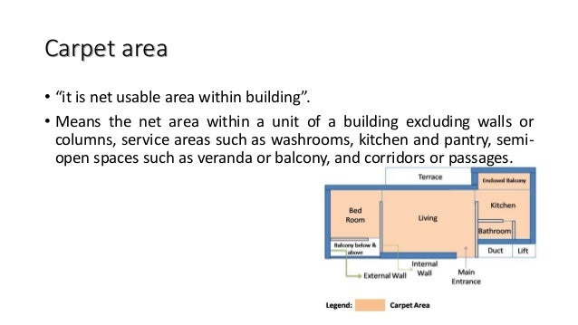 """Floor area • """"It is usable area on each floor"""" • It including, • Porch • Each flat area in single floor for apartment • St..."""