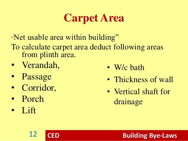 Carpet Area Calculation Meze Blog