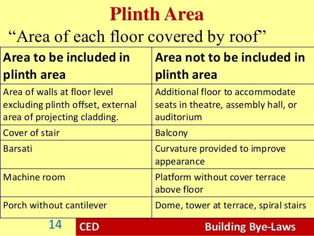 Building Bye Laws Civil Engineering Drawing
