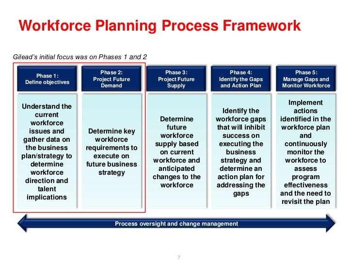 1 explain what is work force planning