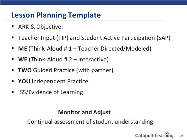 Building Capacity In Your St Century Teachers - 21st century lesson plan template