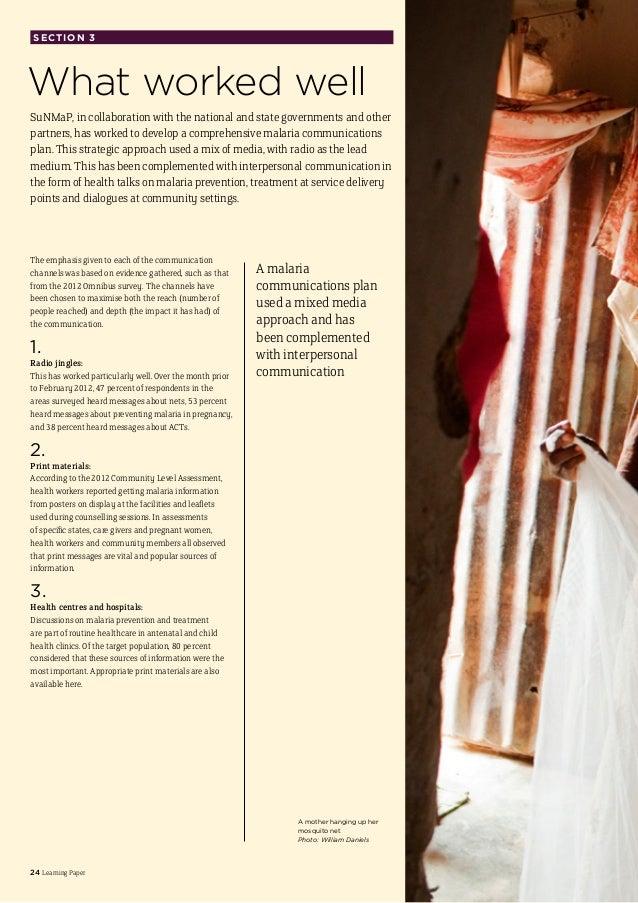 Preventing malaria essay