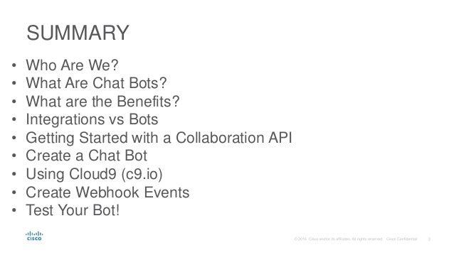 Building Chatbots Slide 2