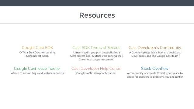 Building HTML5 Chromecast Apps