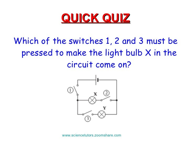 building electrical circuits rh slideshare net electric quiz board circuit diagram Residential Electrical Circuit Diagram