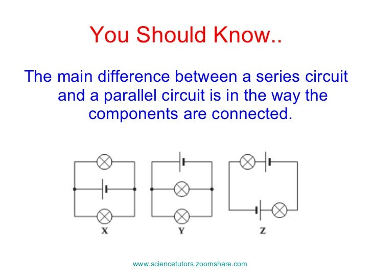 Building Series And Parallel Circuits Online