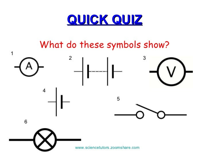 Lovely Electrical Circuits Symbols Ideas - Electrical ...