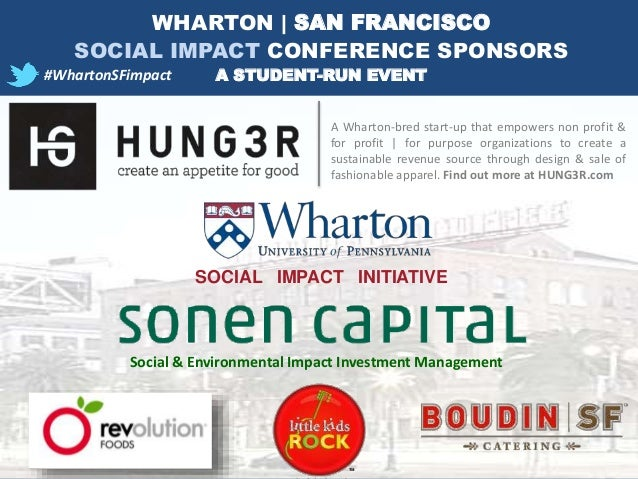 A Wharton-bred start-up that empowers non profit & for profit | for purpose organizations to create a sustainable revenue ...