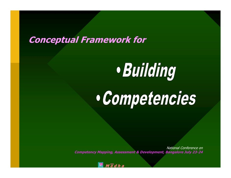 Conceptual Framework for                                                             National Conference on          Compe...