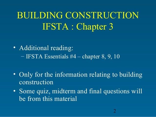 Types Of Building Construction Ifsta