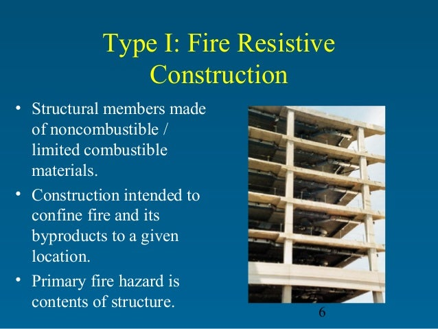 Types Of Building Construction Firefighting