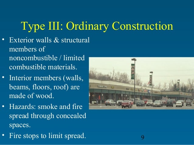 5 Types Of Building Construction : Building construction