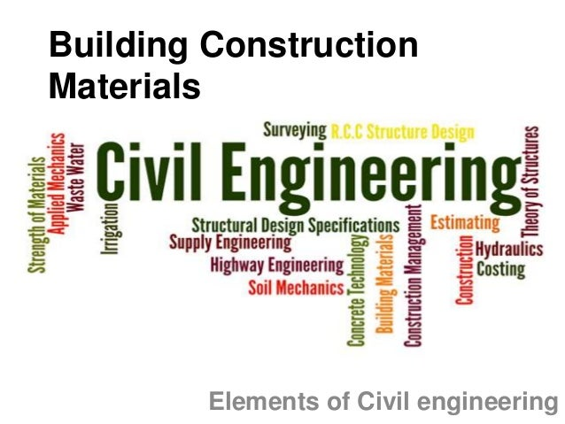 Building construction materials for Construction materials cost