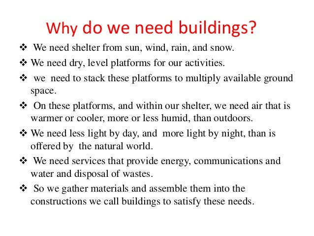 Building construction ppt for What do i need to do to build a house