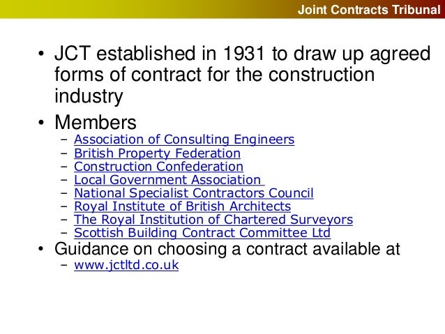 Building contracts and cdm regulations for Royal institute of chartered architects