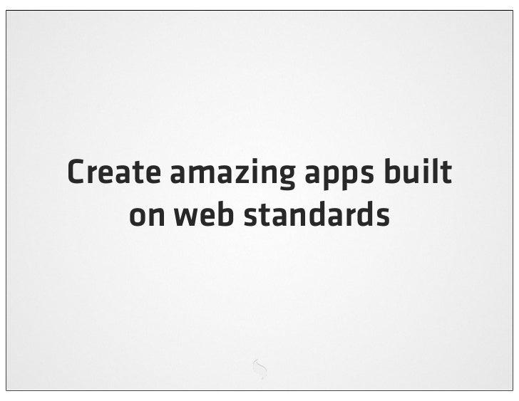 Building cross platform mobile web apps