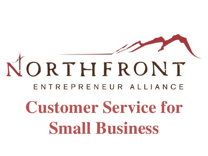 Customer Service for Small Business<br />