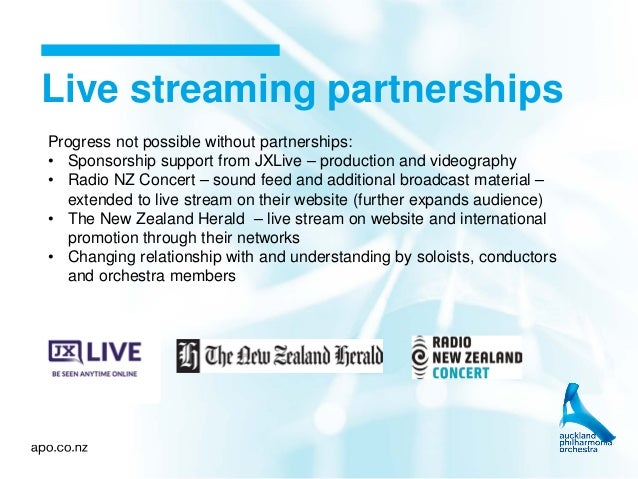 Building digital engagement: Live streaming and whole of organisation…