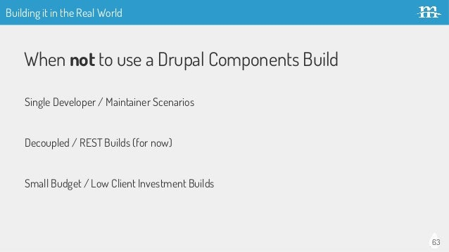 Building Drupal Sites with Components