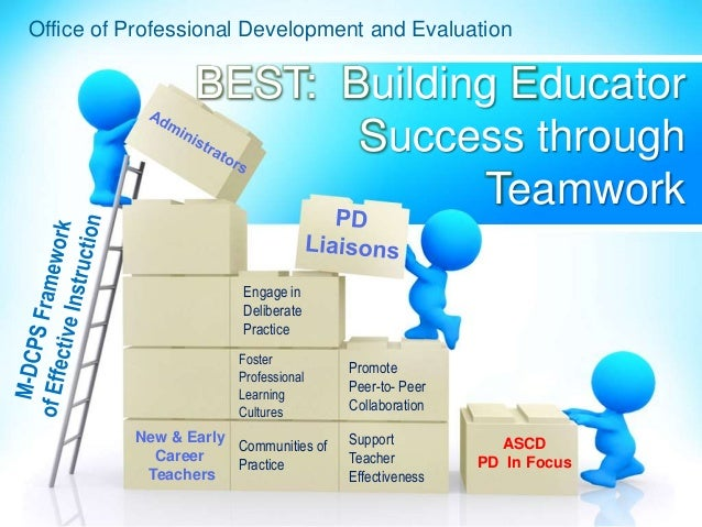 BEST: Building Educator Success through Teamwork New & Early Career Teachers Office of Professional Development and Evalua...