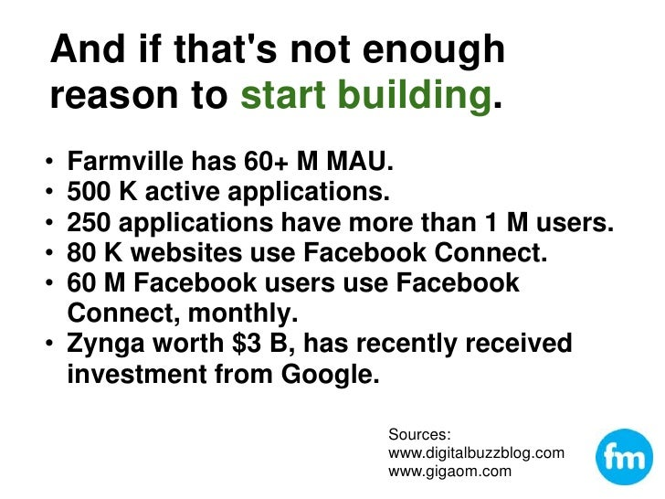 Barcamp AK4 Building facebook applications Slide 3