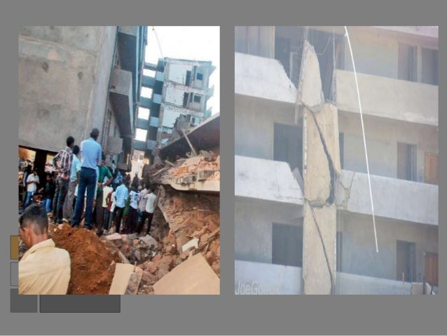 Building Failures and its Causes- Theory of structures