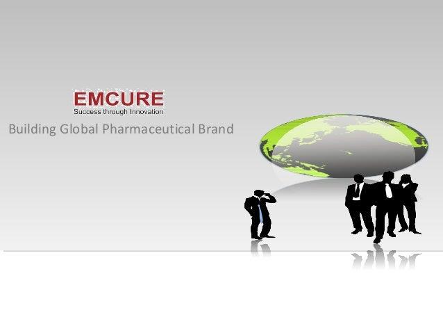 Building Global Pharmaceutical Brand