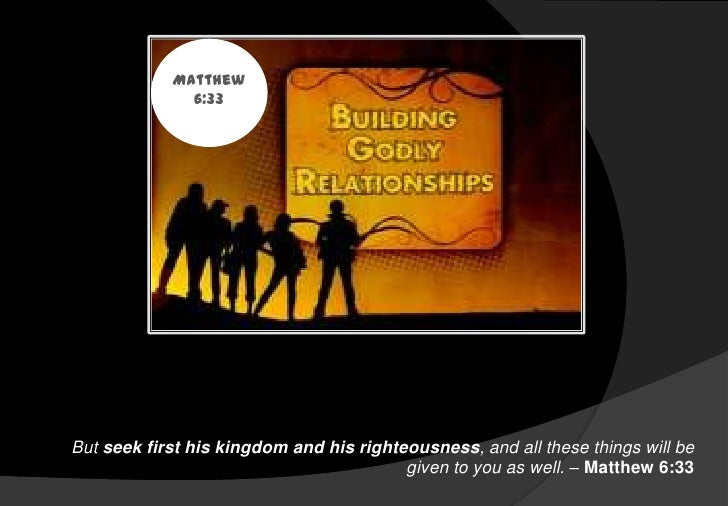 Resources Studies Godly Relationships