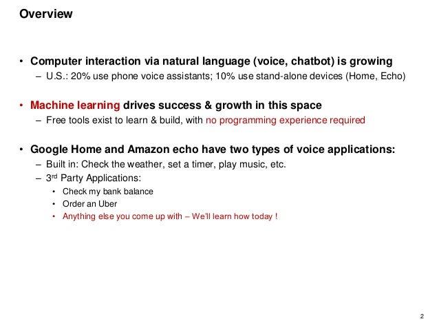 Building google home applications tutorial