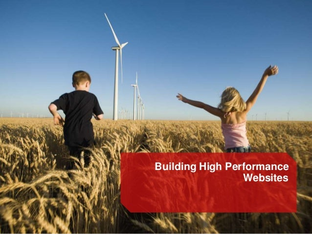 Building High Performance Websites