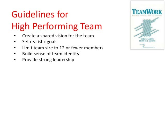Building High Performing Team