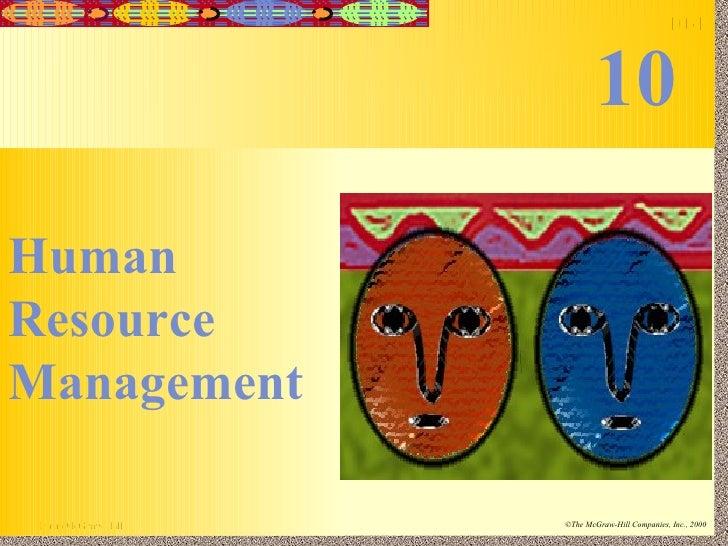 Human Resource Management 10