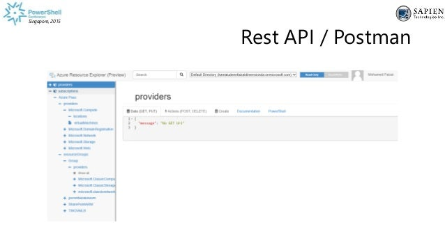 Building infrastructure with Azure Resource Manager using