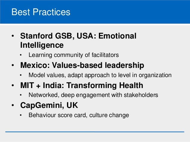 institutional intelligence how to build an effective organization