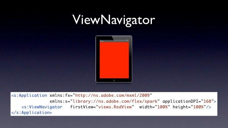 Building iPad apps with Flex - 360Flex