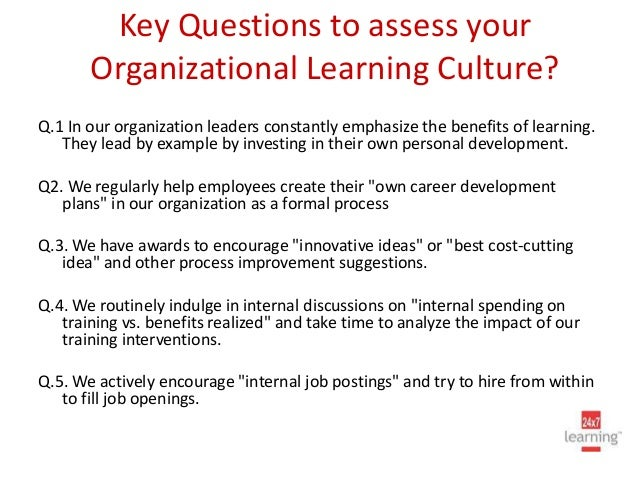 Innovation and Organizational Culture