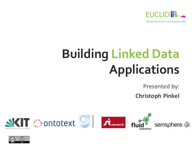 Building Linked Data Applications Presented by: Christoph Pinkel