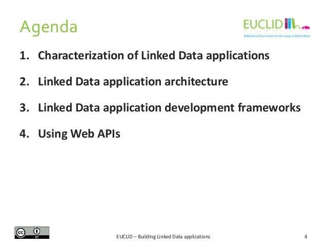 Agenda 1. Characterization of Linked Data applications 2. Linked Data application architecture 3. Linked Data application ...