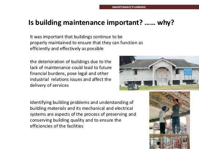 explain the financial implications of specifying materials and building services