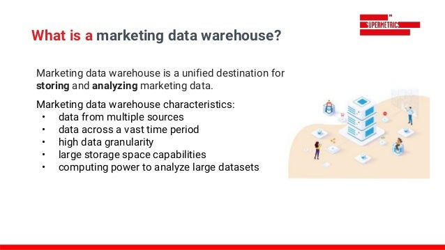What is a marketing data warehouse? Marketing data warehouse is a unified destination for storing and analyzing marketing ...