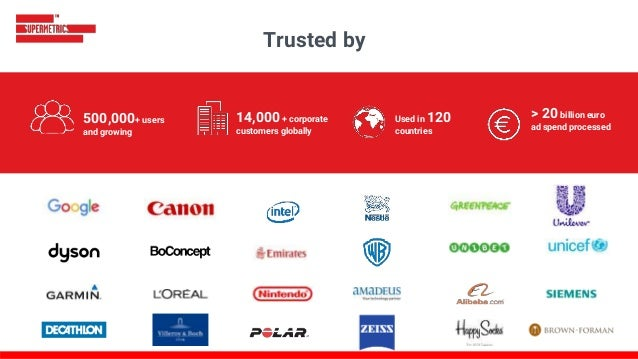 400,000 + users and growing 10,000 + corporate customers globally Used in 120 countries Trusted by 400,000 + users and gro...