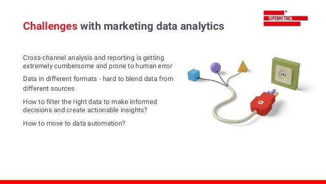 Cross-channel analysis and reporting is getting extremely cumbersome and prone to human error Data in different formats - ...