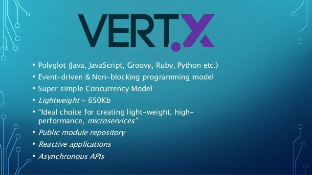 Building microservices with vert x 3 0