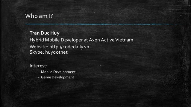 Building mobile app with Ionic Framework Slide 2