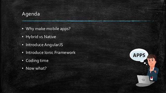 Building mobile app with Ionic Framework Slide 3