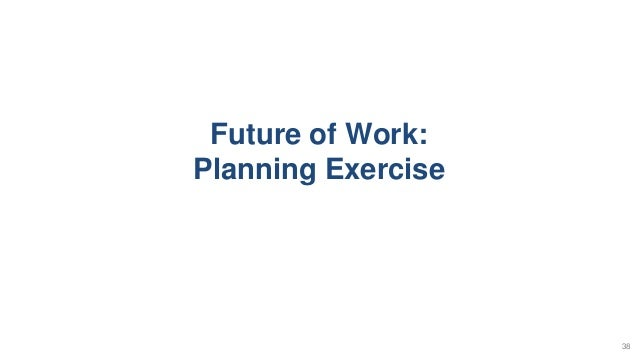 Future of Work: Planning Exercise 38