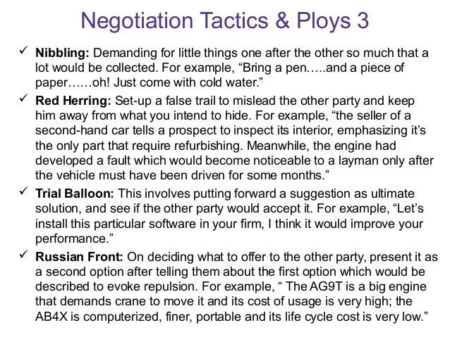 negotiation skills and strategies pdf